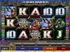 Tomb Raider: Secret of the Sword Slots