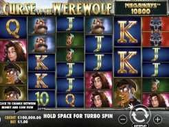 Curse of the Werewolf Megaways Slots